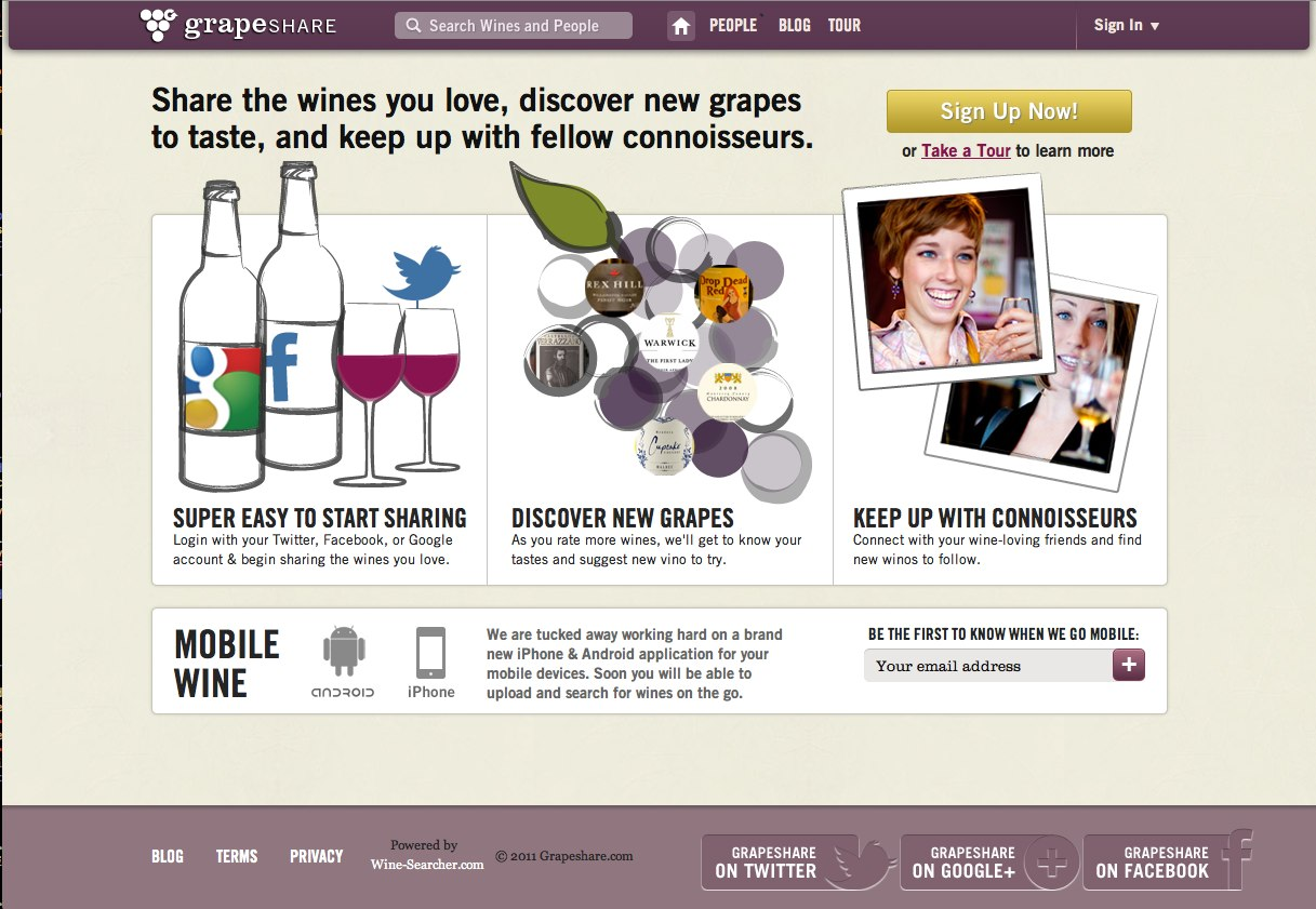 Grapeshare Home Page